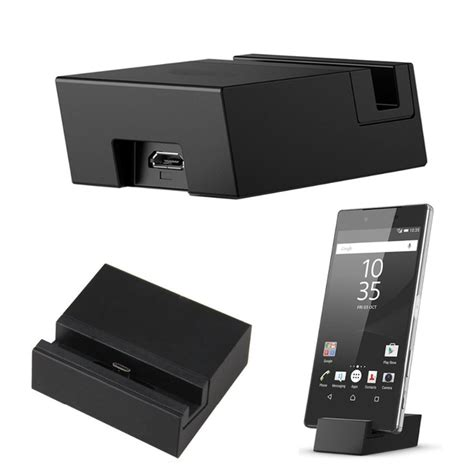 Tutup Usb Port Sony Experia Z5 1 micro usb charging dock stand charger cradle for sony xperia z5 z5 compact z5 premium z3 dual