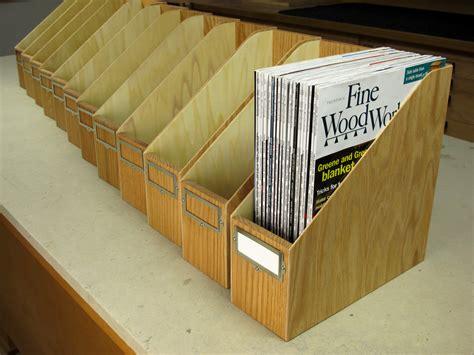 zeitschriften aufbewahrung make your own magazine storage box woodworking gift ideas