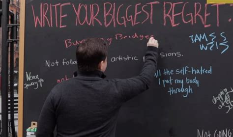 I Regret Getting My Mba by Nyc Experiential Stunt Asks For Regrets