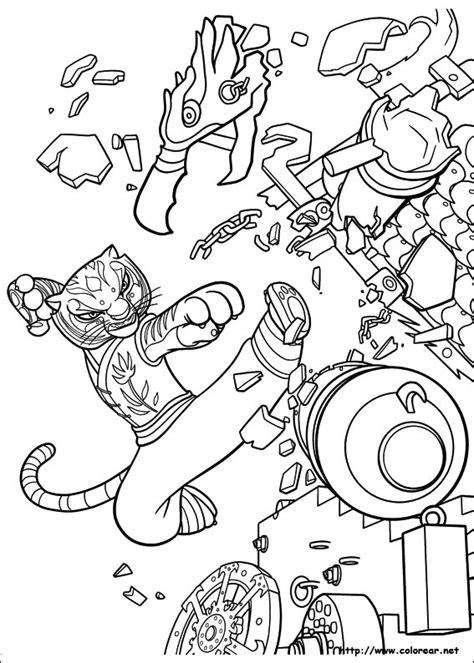 imagenes para colorear kung fu panda 2 dibujos para colorear de kung fu panda 2