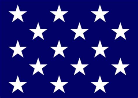 15 star flag 1795 1818 u s