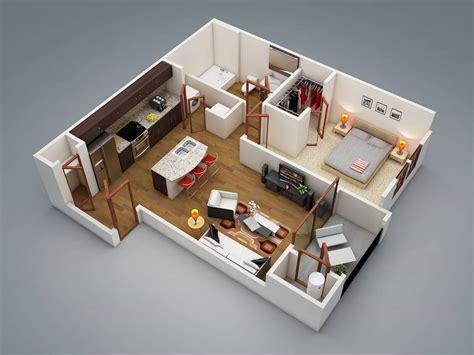 large 1 bedroom apartment floor plans 30 inspira 231 245 es de plantas de casas para seu projeto