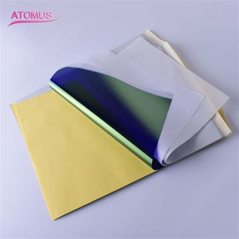 tattoo transfer paper without machine 100pcs stencil tattoo transfer paper a4 tattoo thermal