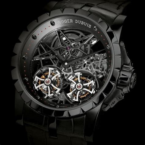 Roger Dubuis Horloger Skeleton Black sihh 2012 roger dubuis proudly presented its complete