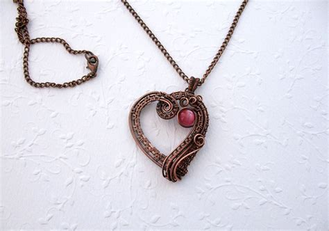 Handcrafted Copper Jewelry - handmade copper jewelry
