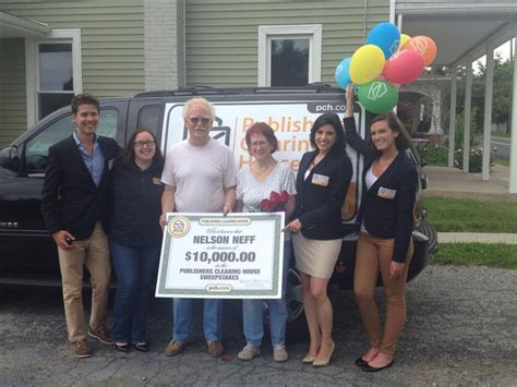 Publishers Clearing House Prize - pch big check is better than chocolate for hershey pa