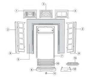 tiled front classic fireplace stovax spare parts