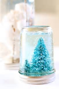 Craft Mugs To Decorate Mason Jar Snow Globe Tutorial Julie Ann Art