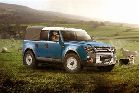 new land rover defenders future land rover defender could get svo s performance touch