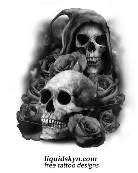 skull tattoo designs free skull tattoos for free skull designs free