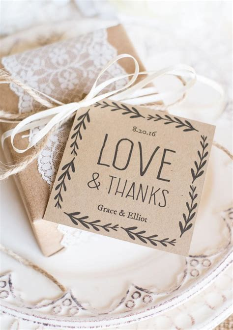 wedding favors templates free printable rustic wedding favor tags printable favor tag template
