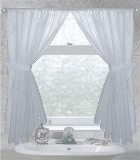 fabric shower curtain with window 1000 ideas about bathroom window curtains on pinterest