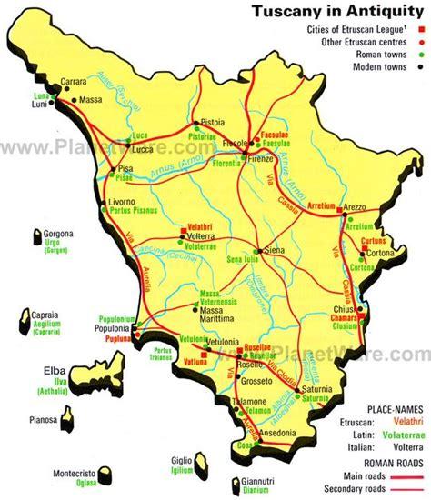 tuscany italy map the world s catalog of ideas