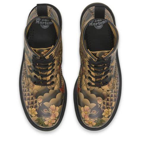 tattoo creams boots ladies 1460 tan tattoo sleeve lace up boot 16556220