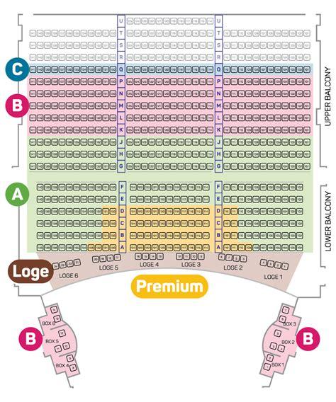 theatre royal seating chart seating plan royal subscription