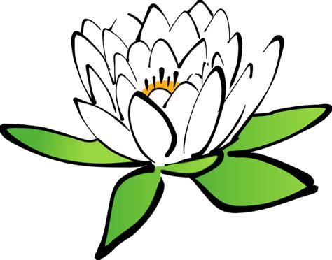 lotus flower clip art  clkercom vector clip art