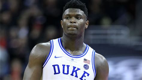 zion williamson injury update duke star out against