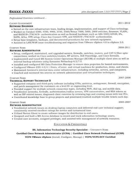 resume format for system engineer system engineer resume