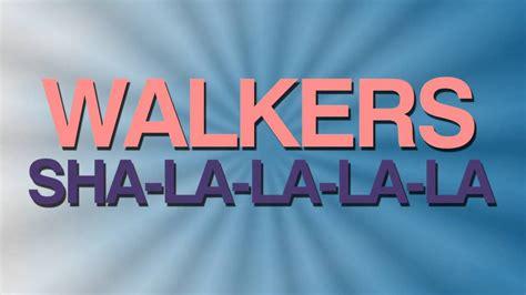 Löshår by Walkers Sha La La La La Vinyl 1973