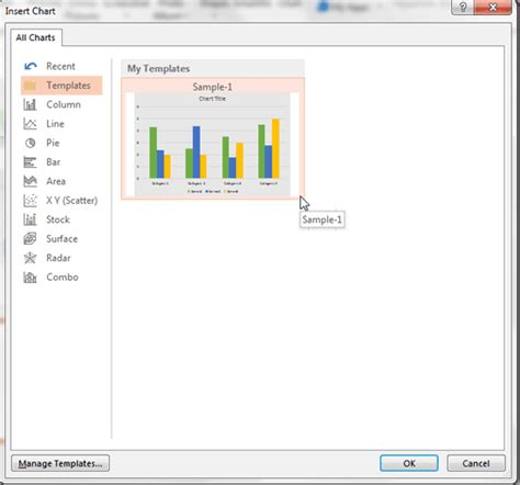 Where are the Chart Templates for PowerPoint 2013 Saved?