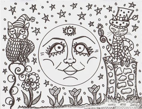 making hippie art coloring books dawn collins art