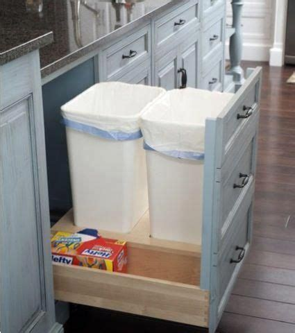 Kitchen Garbage Can Storage by Kitchen Pull Out Trash Bins Both Functional And Aesthetical
