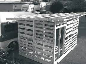 build a shed from recycled materials neks