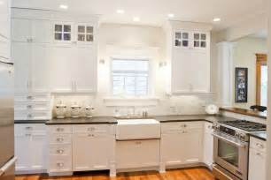 White Kitchen Cabinets With Black Granite Countertops Honed Black Granite Countertops Design Ideas