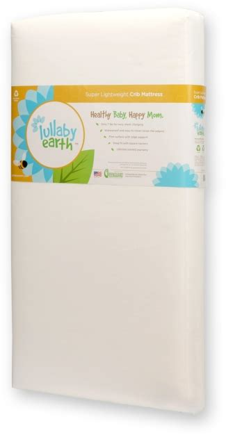 Lullaby Earth Crib Mattress Reviews Lullaby Earth Lightweight Crib Mattress N Cribs