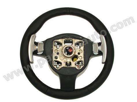 volante design volant alu design palettes noir cayman pdk 2009