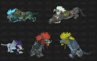 troll druid colors we troll and worgen druid forms going bearfoot