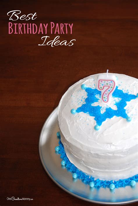 Birthday Party Giveaway Ideas - best kids birthday party ideas and a giveaway onecreativemommy com