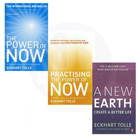 the power of now 0340733500 eckhart tolle 3 books collection set practising the power of now paperback new 0340733500 ebay