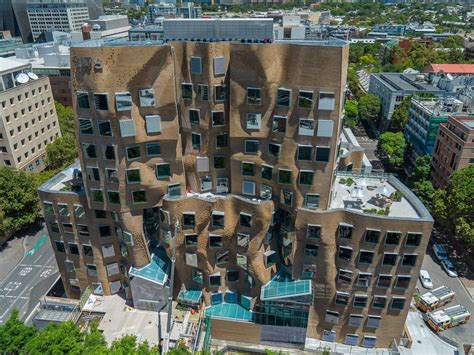 Disney Floor Plans frank gehry crumpled back building in sydney business