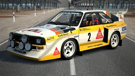 Audi Rally Car For Sale by Eiger Nordwand Court Audi Quattro S1 Rally Car 86