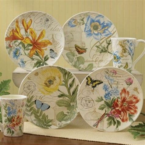 Gorgeous Botanical Plates by Botanical Gardens Dessert Plates And Plate Sets On