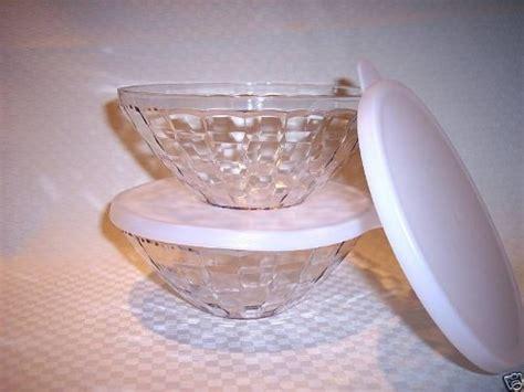 Prism Glass Tupperware serving bowl set tupperware prisms small serving bowl set