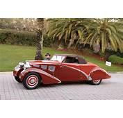 1934 Bugatti Type 57 Paul Nee Cabriolet Car Vehicle Sport
