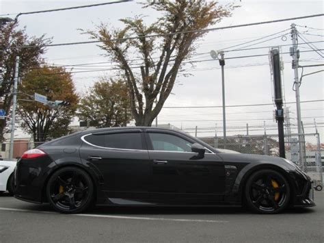 porsche panamera mansory one off porsche panamera with mansory body kit by calwing