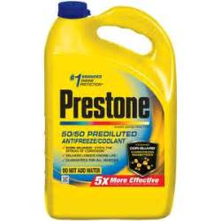 what color is radiator fluid prestone 50 50 antifreeze and coolant af 2100 read 2