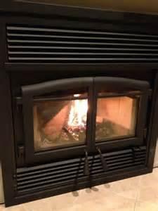 flame monaco xtd epa zero clearance wood burning fireplace