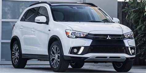 mitsubishi sports car 2018 2018 mitsubishi outlander sport vehicles on display
