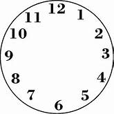 blank clock template with hands . Free cliparts that you can ...