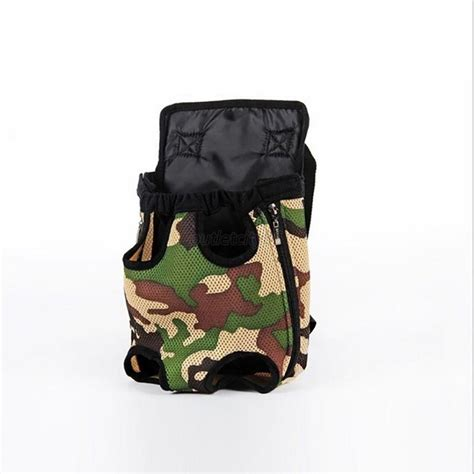 puppy pouch carrier puppy pet cat pouch front bag or back pack backpack carrier with legs out ebay