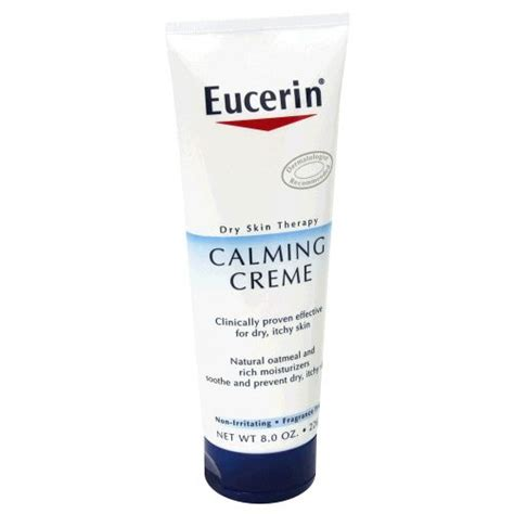 Ecer Hn eucerin skin therapy calming creme reviews photo ingredients makeupalley