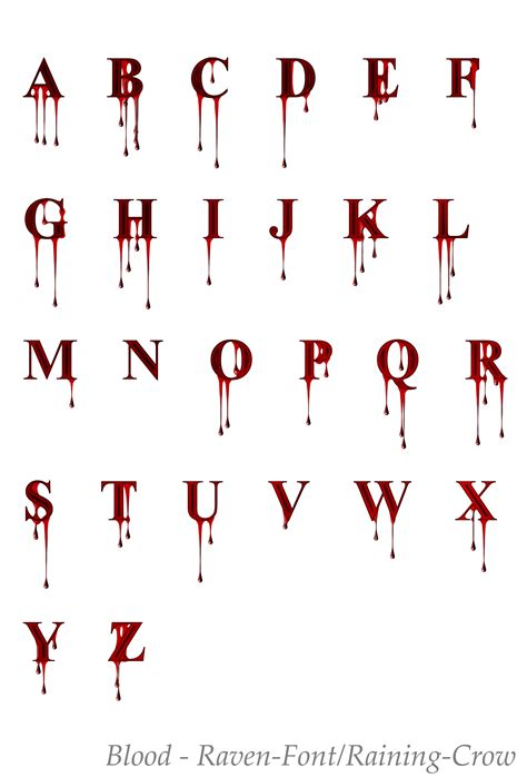 savage letter of the day stock font 1 by fonts on deviantart 1610