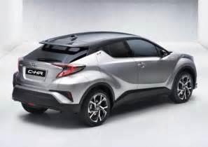 Toyota Hrv Novo Toyota Chr Suv Compacto Rival Do Honda Hrv