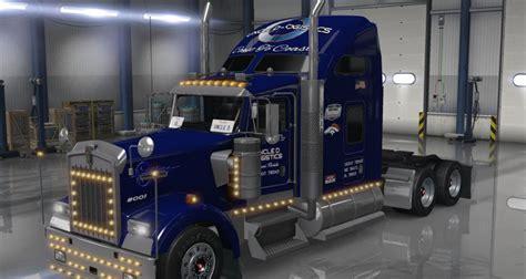 trucking companies with kenworth w900 d logistics kenworth w900 mod skin truck