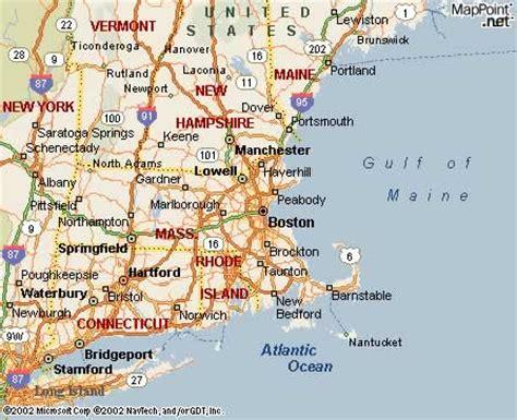 usa map chicago boston boston ma usa this shows the location of boston ma on