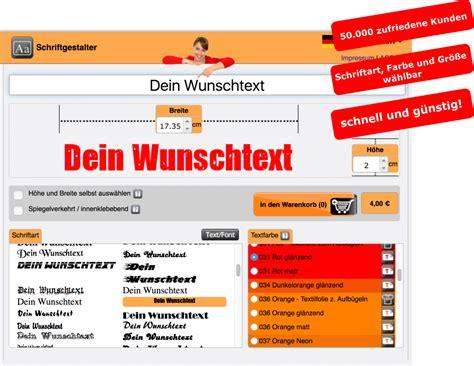 Aufkleber Gestalten Ebay by Klebebuchstaben Texte Spr 252 Che Zahlen Domainaufkleber
